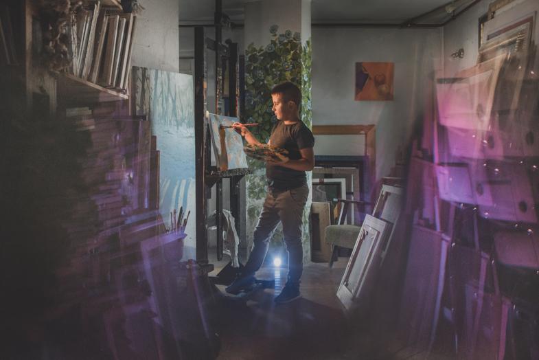 Painter, Luka, 7 years