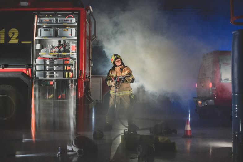 Firefighter, Martin, 16 years