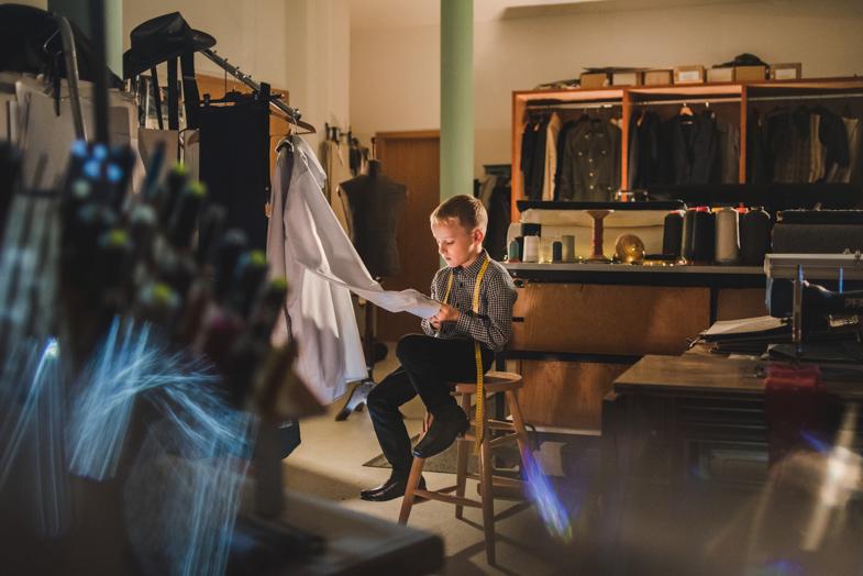 Krojač - pravljične fotografiije otrok