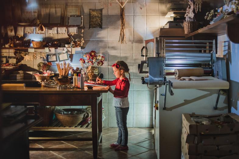 Lectarica, izdelovalka lecta - čarobni portret otroka